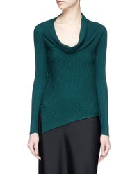 TOME   Cowl Neck Jumper   Lyst