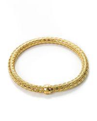 Roberto Coin - 'primavera' 18k Yellow Gold Bracelet - Lyst