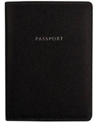 Globe-Trotter - Jet Passport Sleeve – Black - Lyst