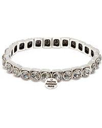 Philippe Audibert - 'jeanne' Swarovski Crystal Elastic Bracelet - Lyst