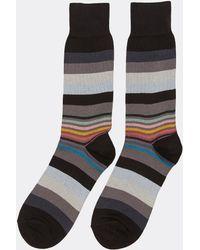Paul Smith - Variegated Stripe Socks - Lyst
