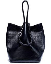 Alexander Wang - 'roxy' Stud Leather Large Bucket Bag - Lyst