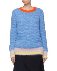 i-am-chen - Colourblock Chunky Knit Sweater - Lyst