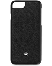 Montblanc - Leather Iphone 8 Case - Lyst
