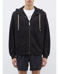 The Upside - 'staple' Logo Embroidered Zip Hoodie - Lyst