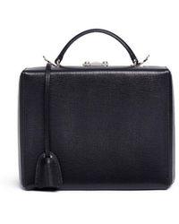 Mark Cross | 'grace Large Box' Saffiano Leather Trunk | Lyst