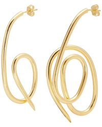 Joanna Laura Constantine - 'knot' Mismatched Drop Earrings - Lyst