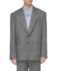 Y. Project - Double Paneled Blazer - Lyst