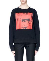 CALVIN KLEIN 205W39NYC - 'dennis Hopper' Print Sweatshirt - Lyst