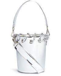 Angel Chen - Mini Ring Mirror Bucket Bag - Lyst