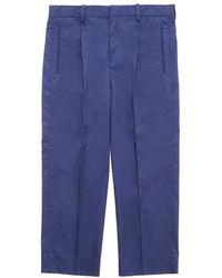 Tomorrowland - Cropped Poplin Pants - Lyst