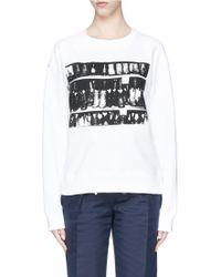 CALVIN KLEIN 205W39NYC - 'cowboy Boots' Print Sweatshirt - Lyst