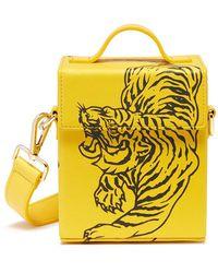 Angel Chen - Tiger Print Crossbody Box Bag - Lyst