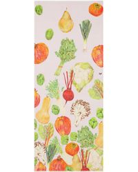 Cjw - 'winter Fruit And Vegetable' Graphic Print Wool Scarf - Lyst