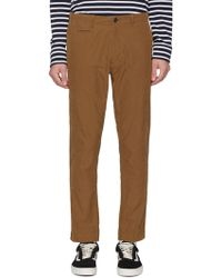 Nanamica - Tapered Twill Chinos - Lyst