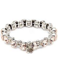 Philippe Audibert - 'marilyne' Swarovski Crystal Elastic Bracelet - Lyst
