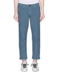 J Brand - 'kane' Straight Leg Trousers - Lyst