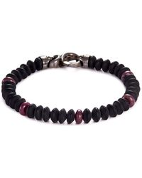 Stephen Webster - 'thorn' Onyx Bead Rhodium Bracelet - Lyst