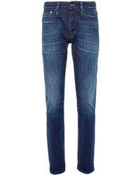 Denham - 'razor' Washed Slim Fit Jeans - Lyst