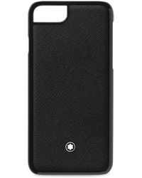 Montblanc - Saffiano Leather Iphone 8 Case - Lyst