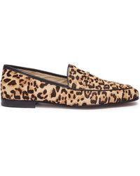 cd62afdbfee2 Sam Edelman -  lorraine  Horsebit Leopard Print Cow Hair Step-in Loafers -