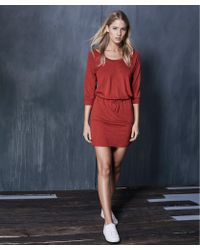 Lanston - Scoop Mini Dress - Lyst