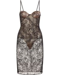 Tinsley dress in leavers lace bra
