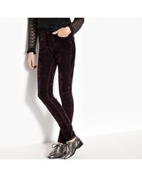 Pepe Jeans - Slim Fit Cigarette Trousers - Lyst