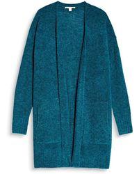 Esprit - Long-sleeved Open Cardigan - Lyst