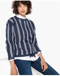 La Redoute - Striped Sweatshirt - Lyst