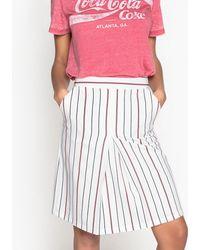 La Redoute - Striped Pencil Skirt - Lyst