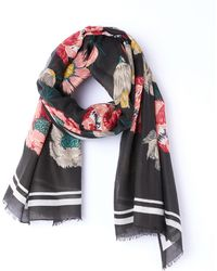 La Redoute - Floral Print Scarf - Lyst