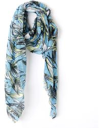 Esprit - Floral Print Scarf - Lyst