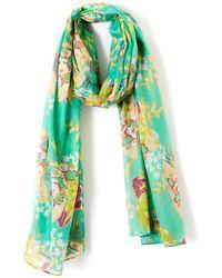 La Redoute - Floral Print Scarf - Lyst