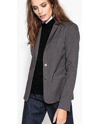 La Redoute - Flannel Tailored Jacket - Lyst
