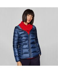 Esprit - Short Lightweight Hooded Padded Jacket - Lyst