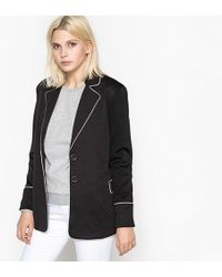 School Rag - Loose Fit Boyfriend Blazer - Lyst