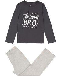 La Redoute - Slogan Print Cotton Pyjamas, 3-12 Years - Lyst