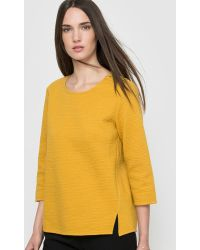 Suncoo - Sweatshirt With 3/4 Sleeves - Lyst
