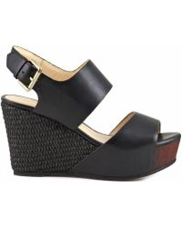 CafeNoir - Hd122 Wedge Sandals - Lyst