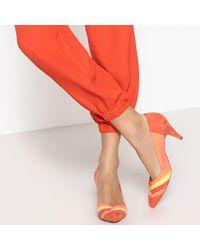 La Redoute - Zapatos de tacón, motivo gráfico multicolor - Lyst