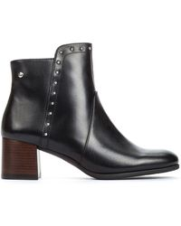 Pikolinos - Bayona W8t Leather Ankle Boots - Lyst