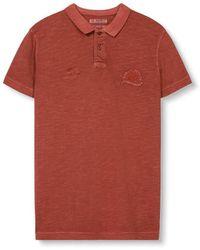 Esprit - Piqué Polo Shirt - Lyst