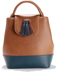 La Redoute - Two-tone Backpack - Lyst