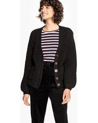 La Redoute - Ribbed Chunky Knit Cardigan - Lyst