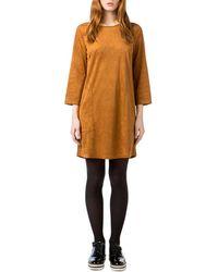 Best Mountain - Long-sleeved Mini Dress - Lyst