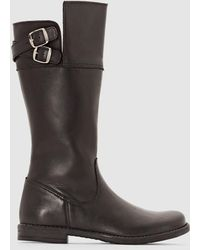 La Redoute - Leather Boots - Lyst