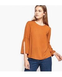 La Redoute - Flared Sleeve Blouse - Lyst