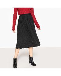 See U Soon - Pleated Midi Skirt - Lyst
