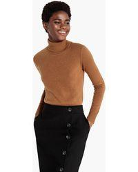 La Redoute - Cashmere Roll Neck Jumper/sweater - Lyst
